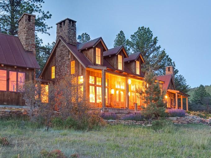 Maison unifamiliale for sales at Rancho Contento 484 Gutshall Road Placerville, Colorado 81430 États-Unis