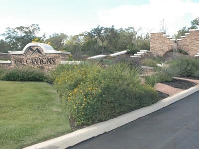 Đất đai for sales at Beautiful Palm Tree and Waterfall Entrance 1950 Autumn Canyon San Antonio, Texas 78253 Hoa Kỳ