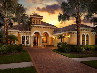 Single Family Home for sales at TWINEAGLES - HEDGESTONE 11864  Hedgestone Ct Naples, Florida 34120 United States