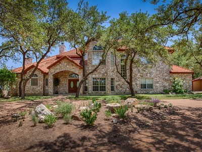 Single Family Home for sales at Ultra-Custom Home on 10+/- Lush Acres 6240 Rattler Pass San Antonio, Texas 78266 United States