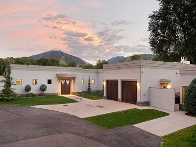Single Family Home for sales at Contemporary Home 75 Overlook Drive  West Aspen, Aspen, Colorado 81611 United States