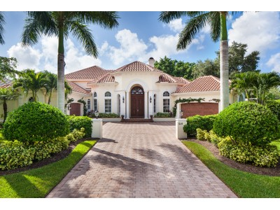 Single Family Home for sales at THE MOORINGS 614  Bow Line Dr  Naples, Florida 34103 United States