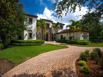 Vivienda unifamiliar for sales at MEDITERRA - IL TREBBIO 16045  Trebbio Way  Naples, Florida 34110 Estados Unidos