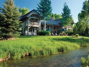 Villa for Vendite at The River House 5775 N. Prince Place North Jackson Hole, Wyoming 83001 Stati Uniti