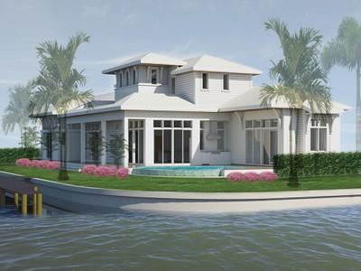 Частный односемейный дом for sales at OYSTER BAY 1100  Sandpiper St Naples, Флорида 34102 Соединенные Штаты