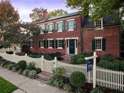 Single Family Home for sales at Old Town: 414 Franklin Street  Alexandria, Virginia 22314 United States