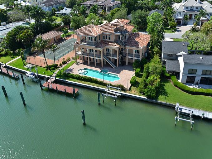 Single Family Home for sales at HARBOR ACRES 1358  Harbor Dr  Harbor Acres, Sarasota, Florida 34239 United States