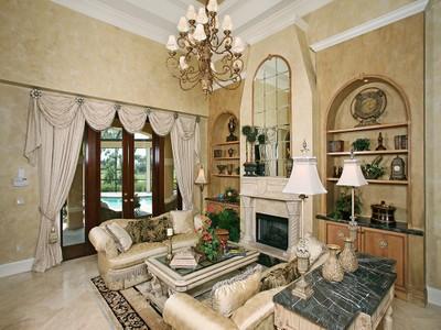 Частный односемейный дом for sales at FIDDLER'S CREEK - ISLA DEL SOL 3852  Isla Del Sol Way Naples, Флорида 34114 Соединенные Штаты