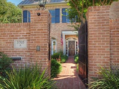 Condominium for sales at 3705 Gilbert St A, Austin  Austin, Texas 78703 United States