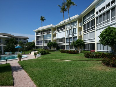 Condominium for sales at THE MOORINGS - EXECUTIVE CLUB 3300  Gulf Shore Blvd  N 109 Naples, Florida 34103 United States
