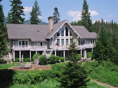 Single Family Home for sales at Walking Bear Ranch 810 Haskill Basin Rd.   Whitefish, Montana 59937 United States