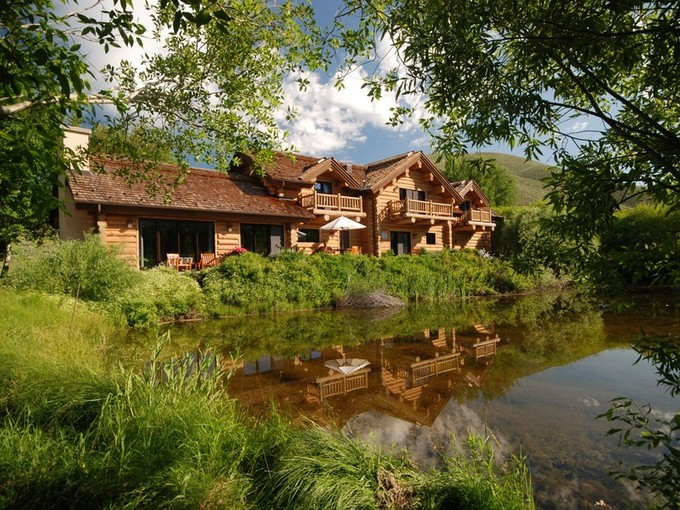 Tek Ailelik Ev for sales at Lodge Style Log Home 104 Silver Queen Dr Sun Valley, Idaho 83353 Amerika Birleşik Devletleri