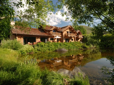 Single Family Home for sales at Lodge Style Log Home 104 Silver Queen Dr Sun Valley, Idaho 83353 United States