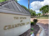 Land for sales at Fabulous Lot in Champions Run 35 Champions Run   San Antonio, Texas 78258 United States