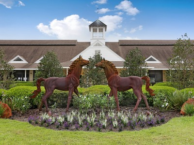 Einfamilienhaus for sales at LAKEFRONT LUXURY EQUESTRIAN FARM 36225  Covington Rd Dade City, Florida 33525 Vereinigte Staaten