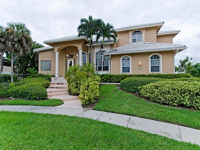 Single Family Home for sales at MARCO ISLAND 859  Wintergreen Ct Marco Island, Florida 34145 United States
