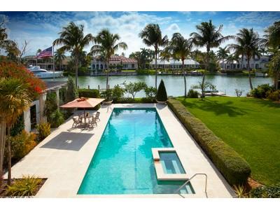 Tek Ailelik Ev for sales at PORT ROYAL 3595  Gin Ln  Port Royal, Naples, Florida 34102 Amerika Birleşik Devletleri
