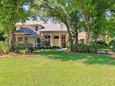 Частный односемейный дом for sales at LAUREL OAK ESTATES 3264  Walter Travis Dr Sarasota, Флорида 34240 Соединенные Штаты