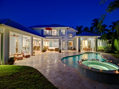 Single Family Home for sales at THE MOORINGS 539  Rudder Rd Naples, Florida 34102 United States