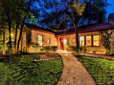 Single Family Home for sales at Urban Rock Cottage in Alamo Heights 254 Castano Ave San Antonio, Texas 78209 United States