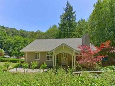 Casa para uma família for sales at 4328 Redwood Rd, Napa, CA 94558 4328  Redwood Rd Napa, Califórnia 94558 Estados Unidos