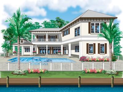 独户住宅 for sales at ROYAL HARBOR 1660  Dolphin Ct Naples, 佛罗里达州 34102 美国