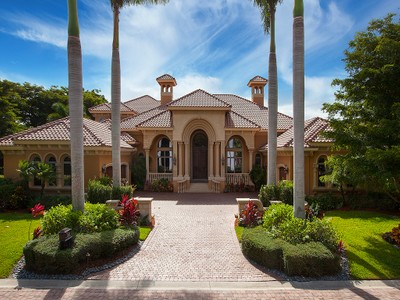 Single Family Home for sales at GREY OAKS 1610  Chinaberry Way Naples, Florida 34105 United States