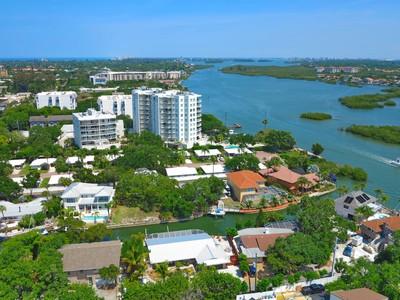 토지 for sales at SECLUDED HARBOUR 1230  Solitude Ln Sarasota, 플로리다 34242 미국