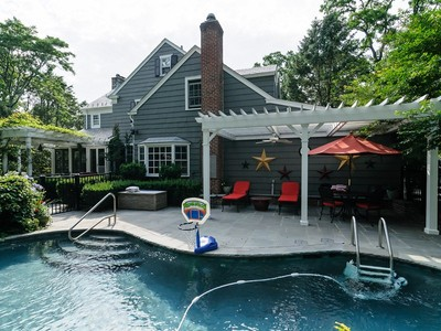 Single Family Home for sales at Colonial 316 Manhasset Woods Rd  Manhasset, New York 11030 United States