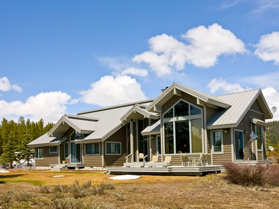 Casa para uma família for sales at Grand Teton National Park In-Holding 27370 N WHETSTONE ROAD North Jackson Hole, Wyoming 83013 Estados Unidos