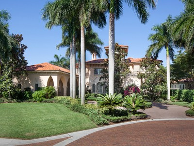 Maison unifamiliale for sales at BAY COLONY - ESTATES AT BAY COLONY 1254  Waggle Way Naples, Florida 34108 États-Unis