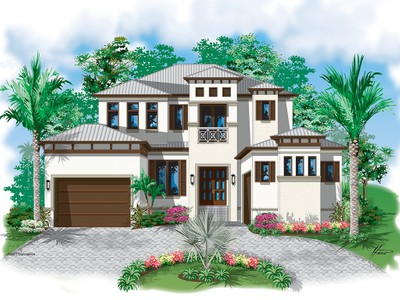 Single Family Home for sales at ROYAL HARBOR 1350  Marlin Dr Naples, Florida 34102 United States