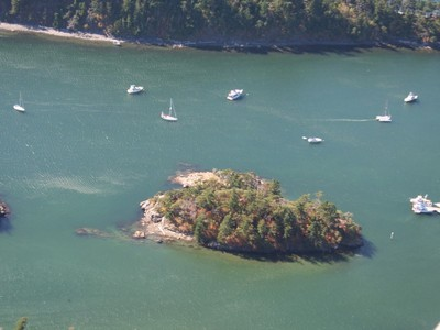 Terrain for sales at Private Island in the Sucia Islands Harndon Island Eastsound, Washington 98245 États-Unis