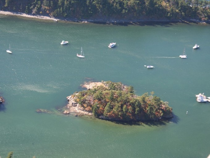 Đất đai for sales at Private Island in the Sucia Islands Harndon Island Eastsound, Washington 98245 Hoa Kỳ