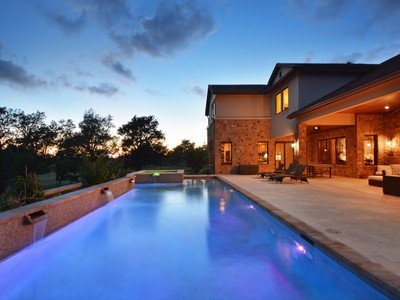 Single Family Home for sales at Tuscan Home in Belvedere 8041 Carlton Ridge Cv Austin, Texas 78738 United States