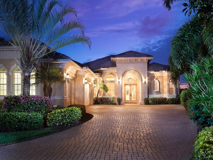 Single Family Home for sales at VINEYARDS - HAMMOCK ISLES 5851  Bromelia Ct Naples, Florida 34119 United States