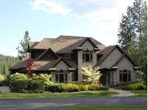 Maison unifamiliale for sales at Home with acreage on the waterfront 3488 E Ponderosa Blvd   Post Falls, Idaho 83854 États-Unis