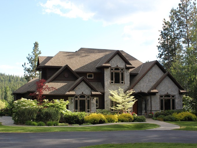 단독 가정 주택 for sales at Home with acreage on the waterfront 3488 E Ponderosa Blvd   Post Falls, 아이다호 83854 미국