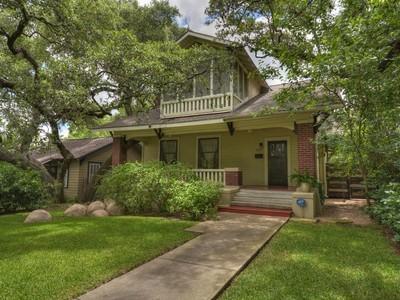 独户住宅 for sales at 1605 Brackenridge ST, Austin  Austin, 得克萨斯州 78704 美国