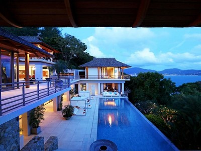 Single Family Home for sales at Breathtaking Sea View Villa Kamala Kamala, Phuket 83120 Thailand