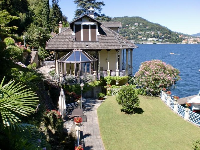 Single Family Home for sales at Majestic liberty villa on Lake Como  Como, Como 22100 Italy