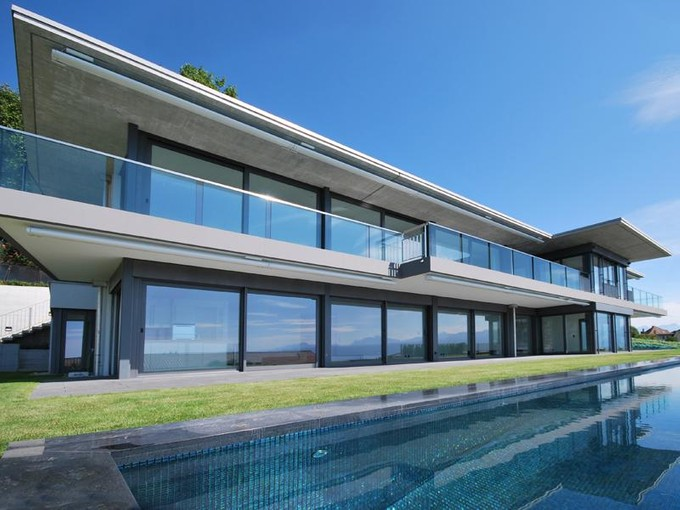 Land for sales at Large luxury residence of contemporary design  Lutry, Vaud 1095 Switzerland
