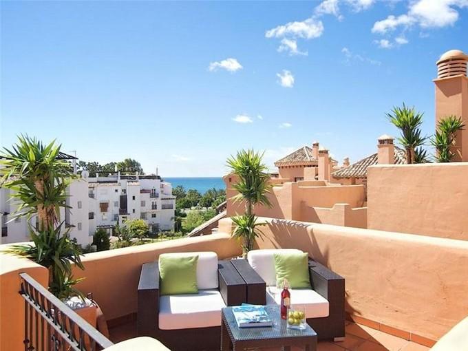 公寓 for sales at Duplex penthouse on the Promenade of San Pedro    Marbella, Costa Del Sol 29679 西班牙