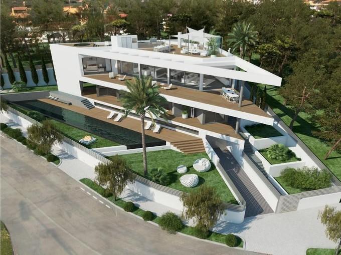 Single Family Home for sales at Project with sea views in Nova Santa Ponsa  Santa Ponsa, Mallorca 07181 Spain