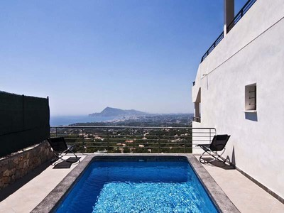 Single Family Home for sales at A modern villa with great views  Altea, Alicante Costa Blanca 03590 Spain