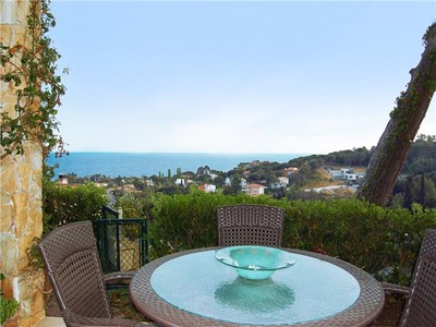 Maison unifamiliale for sales at Lovely single-storey house with excellent sea view  Blanes, Costa Brava 17300 Espagne