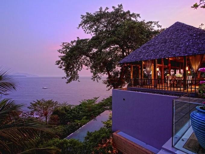 Casa Unifamiliar for sales at Unique Absolute Oceanfront Villa Nai Thon Nai Thon, Bangkok 83110 Tailandia