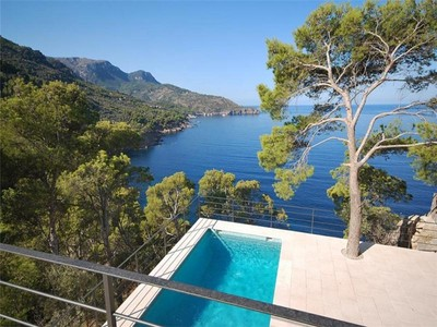 Single Family Home for sales at Refurbished Villa above the sea in Sóller  Deia, Mallorca 07100 Spain
