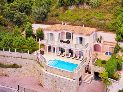 Single Family Home for sales at Sole Agent - Provencal Style Villa with panoramic  Eze, Provence-Alpes-Cote D'Azur 06360 France