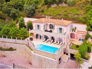 Moradia for sales at Sole Agent - Provencal Style Villa with panoramic  Eze, Provença-Alpes-Costa Azul 06360 França